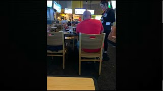 Buffalo Wild Wings customers asked to move because man 'didn't want to sit next to black p