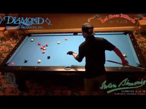 Johann Chua 88 Ball Run in Straight Pool