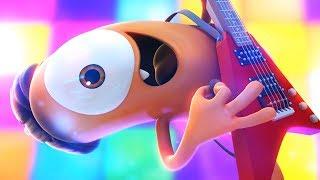 Funny Animated Cartoon | Spookiz | The Rockstar Life | 스푸키즈 | Kids Cartoons | Videos for Kids