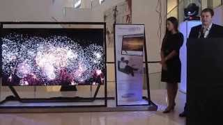 Samsung presenta el Smart TV 3D S9 Ultra High Definition (Parte 1)