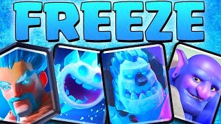 ICE CARDS ONLY // Clash Royale // Frozen Deck Challenge