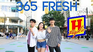 kpop in public vancouver triple h 트리플 h 365 fresh dance cover k city x aidan