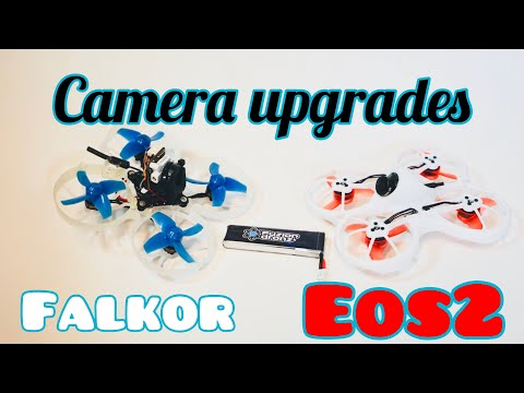 Tinyhawk and Beta 75 camera upgrades. Caddx eos 2, Falkor