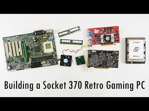Building a Socket 370 Retro Gaming PC
