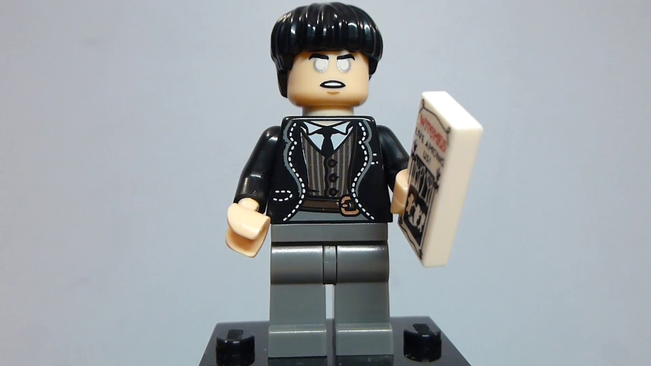 Credence Barebone Lego Harry Potter Mini figure Series 1