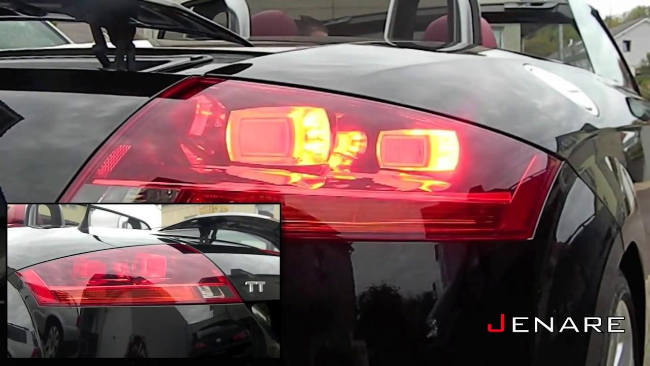 Audi Tt Roadster Feux Arri 232 Re Comparaison Halog 232 Ne Et