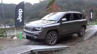 2013.11.3~4 青根キャンプ場 ジープ コンパス・リミテッド Jeepの名に...