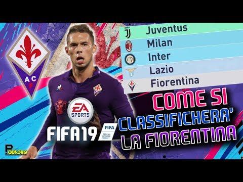 I NUOVI GIOVANI DELLA FIORENTINA IN FIFA 19 | Come si classificherà?