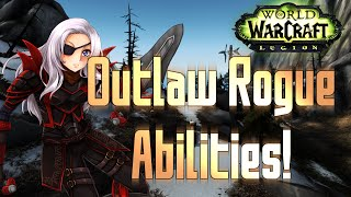 ♣ Sensus | WoW Legion Alpha | New Outlaw Rogue Abilities/Spells! (World of Warcraft Legion)