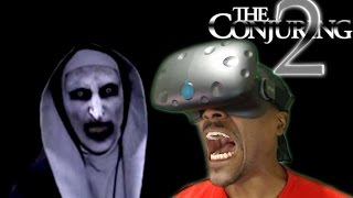 The Conjuring 2 - Experience Enfield VR 360 HTC Vive REACTION