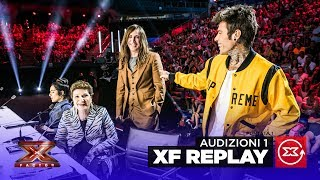 X factor replay | audizioni 1