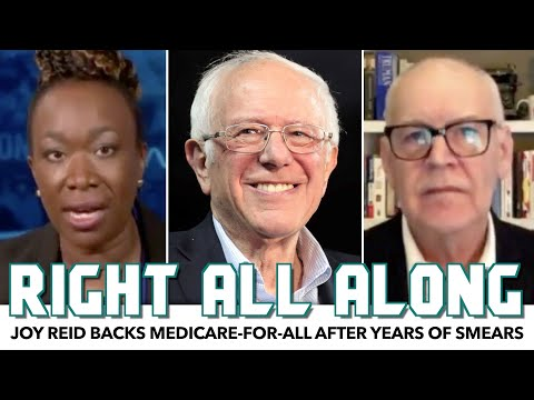 Joy Reid Backs Medicare-For-All After Smearing Bernie For Years