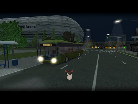 (real mode)Bus Simulator 17.Munchen industry level 4