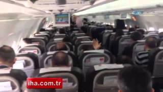 Karadenizli pilottan yolcuları gülme krizine sokan anonslar