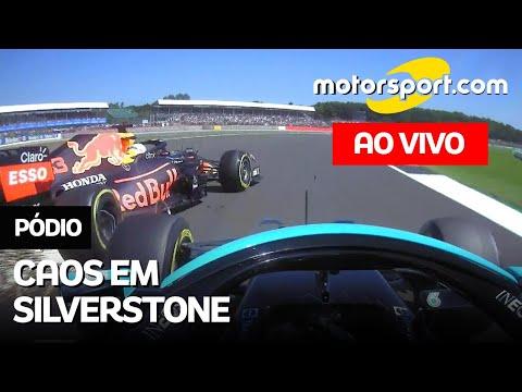 F1 2021: Debate sobre GP DA GRÃ-BRETANHA, com comentários de Rico Penteado e Felipe Motta | PÓDIO