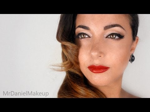 Famoso Pin Up anni 50 with My Sister - Make-up Tutorial - YouTube DG24