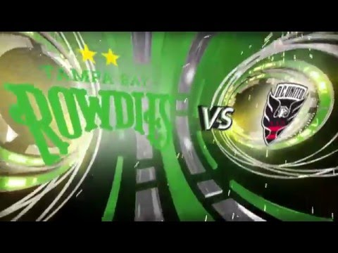 Suncoast Invitational - Tampa Bay Rowdies vs. D.C. United - 2/13/16