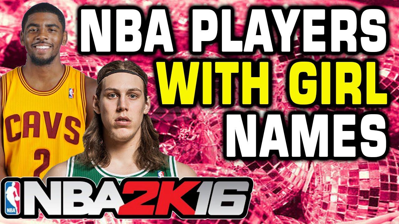 NBA 2K16 Players With Girl Names MyTeam Challenge