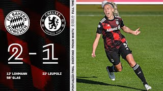Re-Live: FC Bayern - FC Chelsea | UEFA Women's Champions League