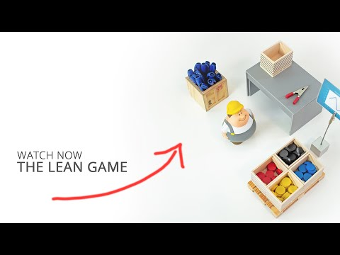 Lean Manufacturing - A Kaizen Business Game // Howto Implement Lean Production // Factory Tutorial