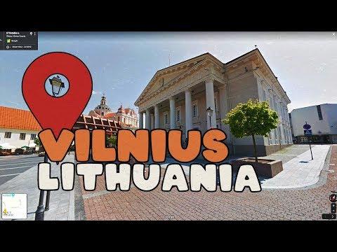 Vilnius Lithuania looks