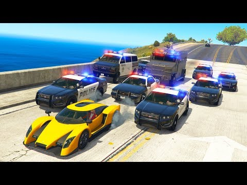 THE MOST INSANE POLICE CHASE EVER!   GTA 5 Roleplay