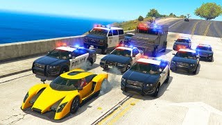 THE MOST INSANE POLICE CHASE EVER! | GTA 5 Roleplay