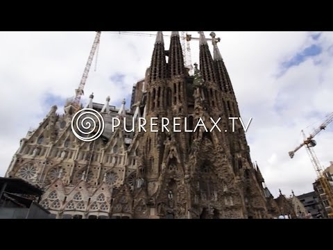 Nature Videos - Guitar Music, Relaxing, Positiv & Harmony - A TASTE OF BARCELONA