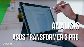 Asus Transformer 3 Pro, review / análisis en español