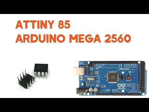 ATtiny 85 On Arduino Mega 2560