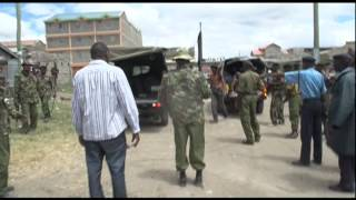 Rival Mungiki Gangs Clash In Kitengela