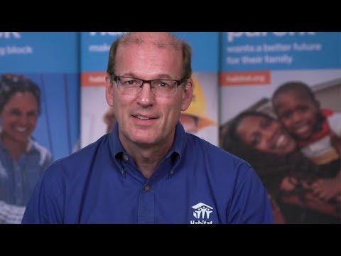 Habitat for Humanity International CEO Jonathan Reckford addresses Habitat's response to Harvey.