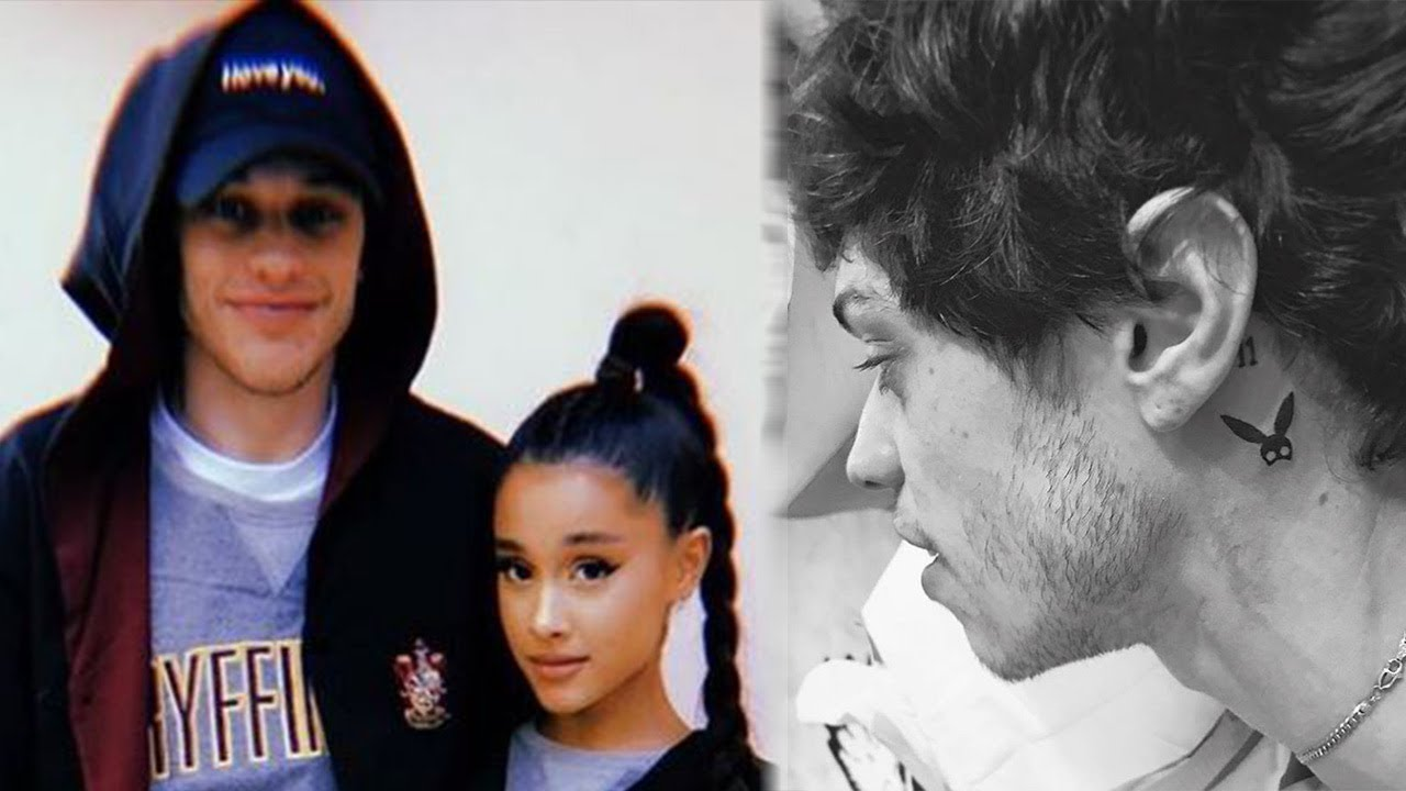 Pete Davidson's New Ariana Grande Tattoo Has A Very Personal Connection To The ...