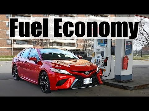 2020 Toyota Camry - Fuel Economy MPG Review + Fill Up Costs