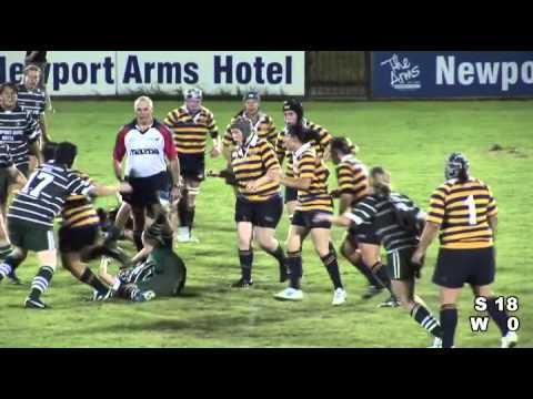 women's rugby in Sydney, Australia : Warringah vs Sydney Uni
