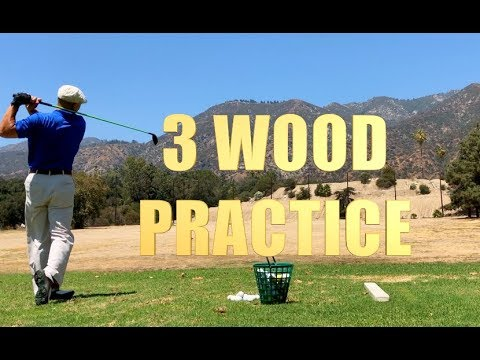 GOLF 3 WOOD PRACTICE