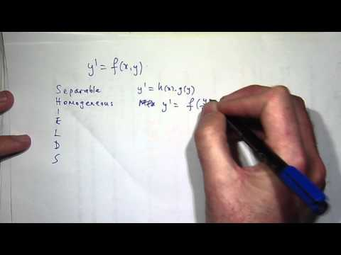 How to solve ANY differential equation