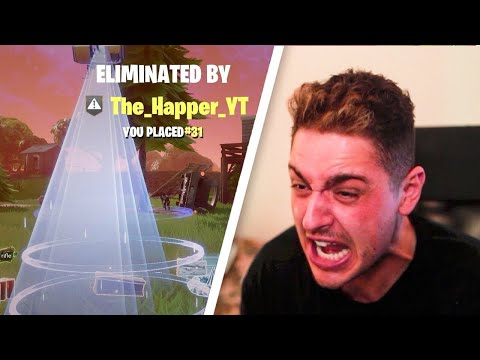 WORLDS ANGRIEST FORTNITE PLAYER - FORTNITE BATTLE ROYALE