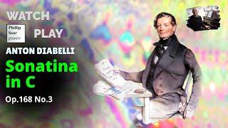 Anton Diabelli : Sonatina in C , Op. 168 No. 3