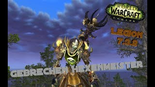World of Warcraft Legion [7.3.2] Affliction Warlock [PvP Movie]