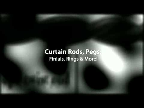 Curtain Rods & Drapery Hardware