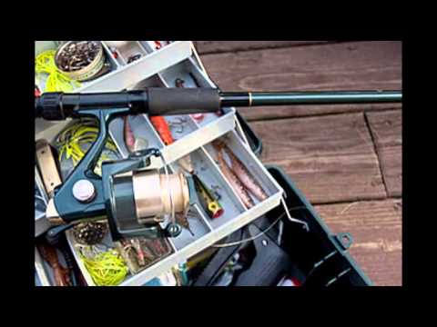 Peralatan Pancing di Laut dan di Sungai serta di Danau