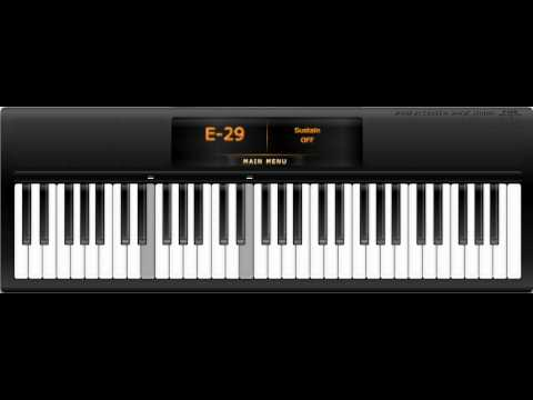 Titanic - My Heart Will Go On on Virtual Piano (Revised)