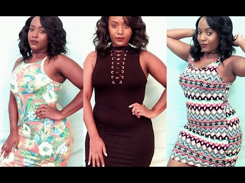 4bf9408b544 💃🏾Curvy Girl Summer Dress Try On 💃🏾 - YouTube