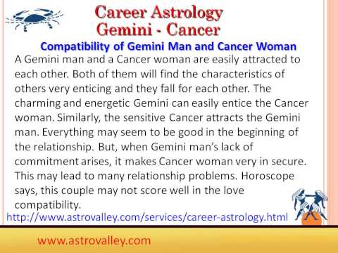 Gemini and Cancer Love Marriage