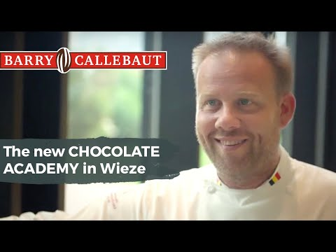 Have a tour at the new Callebaut flagship Chocolate Academy centre in Wieze Belgium
