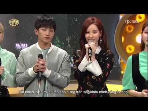 [VIETSUB] 170122 Seohyun @ SBS Inkigayo Interview