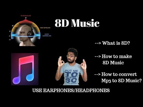 What is 8D Music? How to convert MP3 to 8D Music?