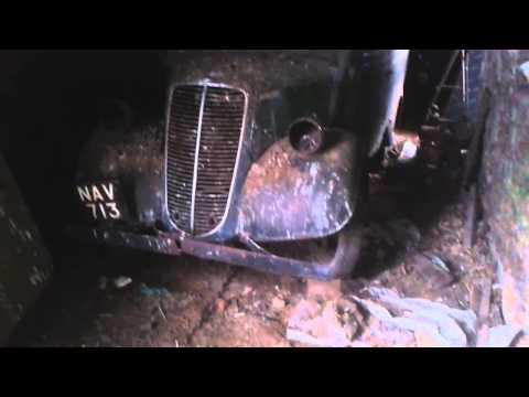 Ford Thames E83w barn find 2014