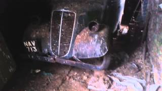 Ford Thames E83w barn find 2014